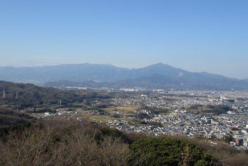 丹沢の眺め