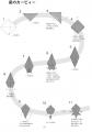カービィー折り図1