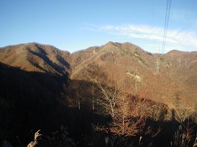 ぶどう峠とぶどう岳