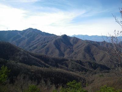 御座山と八ヶ岳