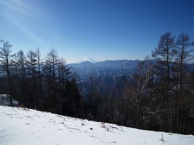 今日の富士山20170122