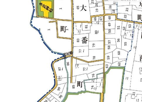 池尻橋MAP