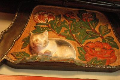 金谷ホテル 眠り猫