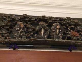 金谷ホテル 三猿