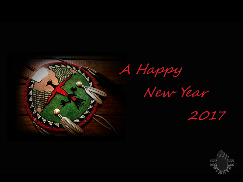 A Happy New Year 2017 logo ver