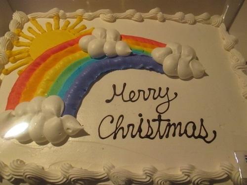 クリスマス会ケーキ