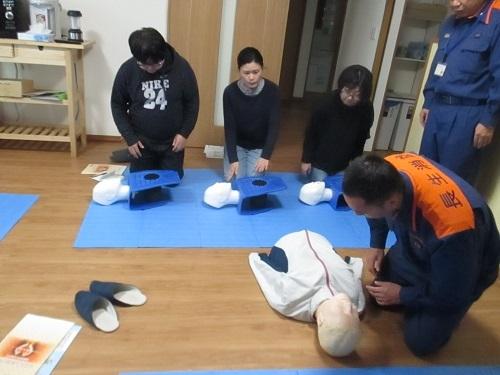 救急法講習