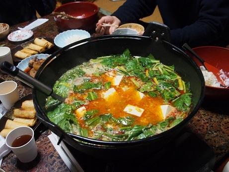 P1290637 料理マーボ鍋