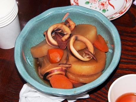 P1290633 料理イカ大根