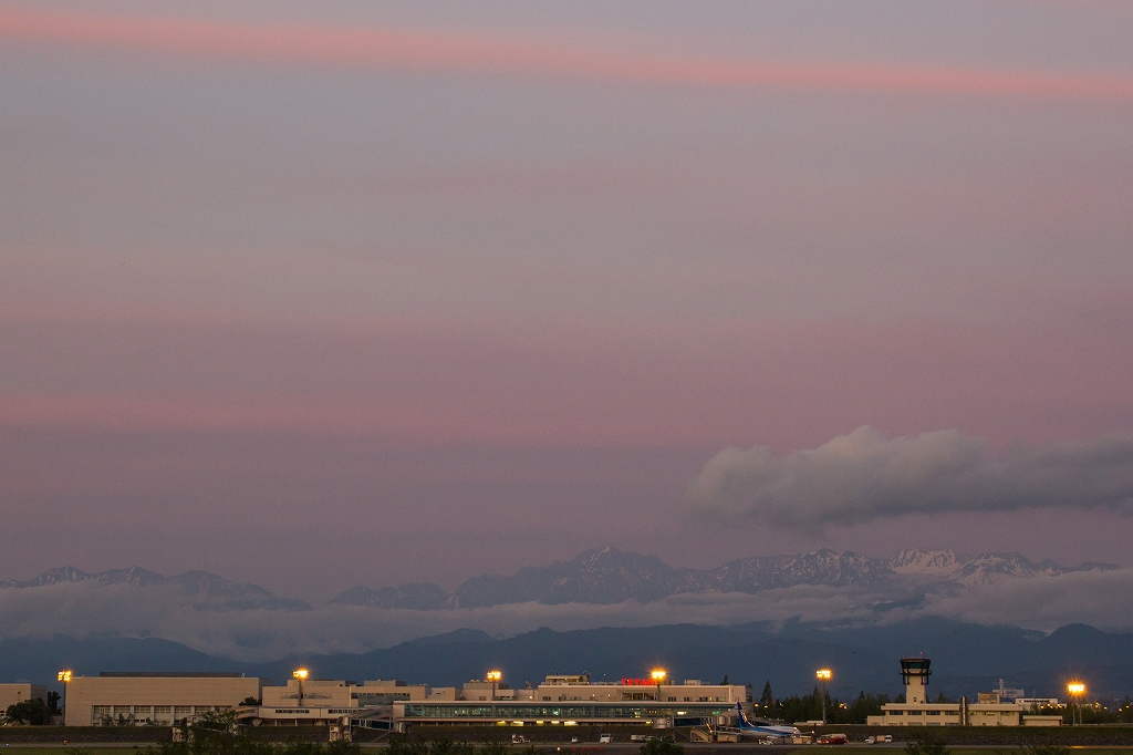 富山空港2016