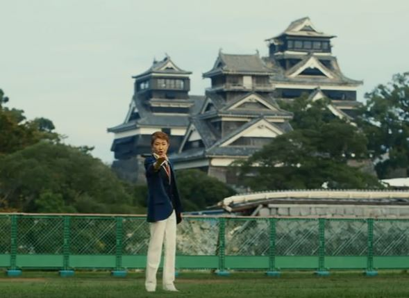 熊本震災復興356歩のマーチ