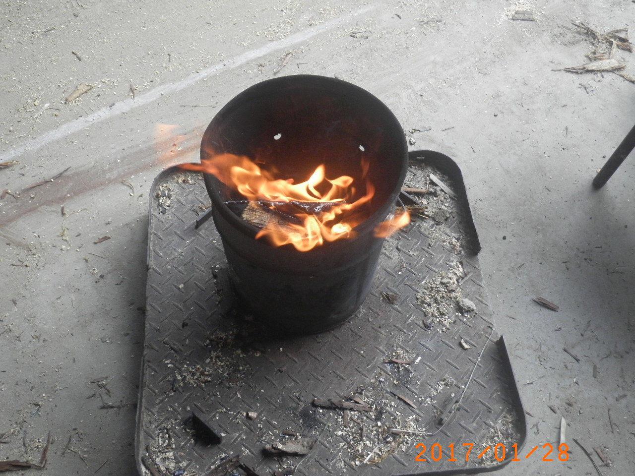 焚き火112