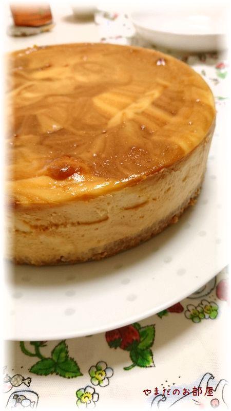 キャラメルチーズケーキ①