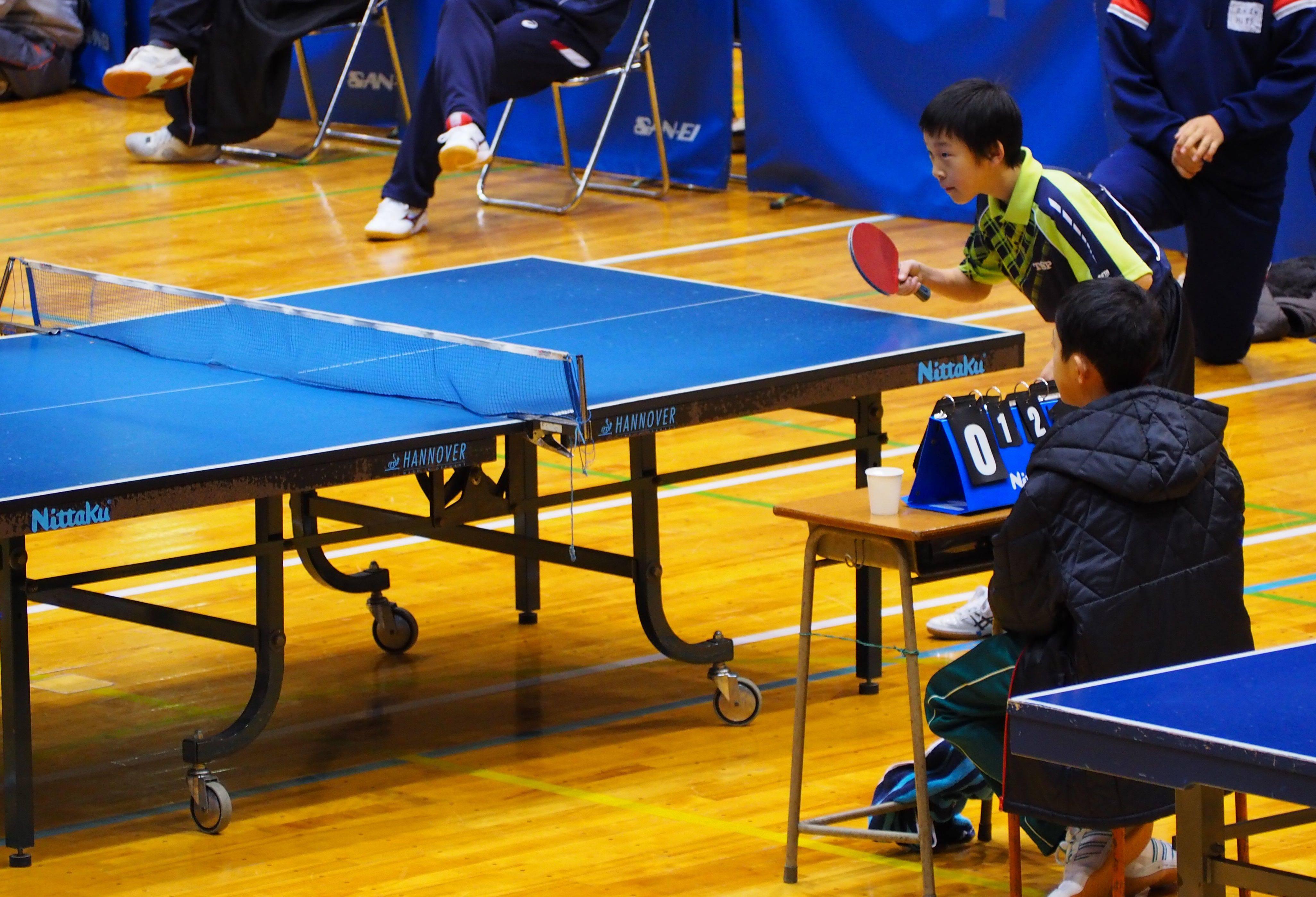 平成28年度 福井県中学校卓球大会(男子)5