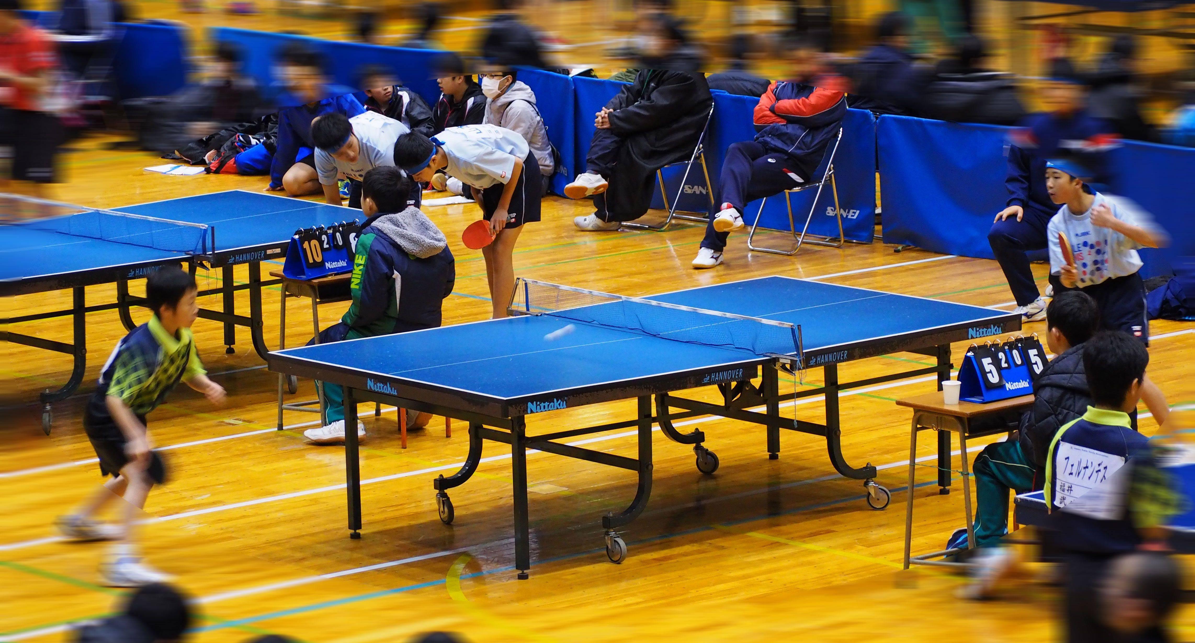 平成28年度 福井県中学校卓球大会(男子)3