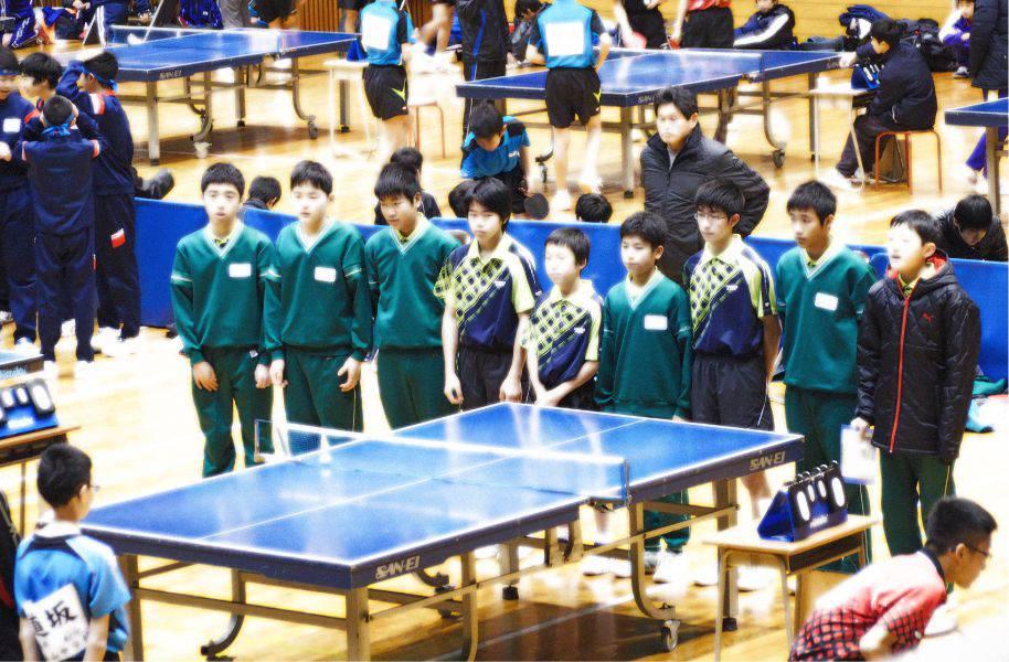 平成28年度 福井県中学校卓球大会(男子)2