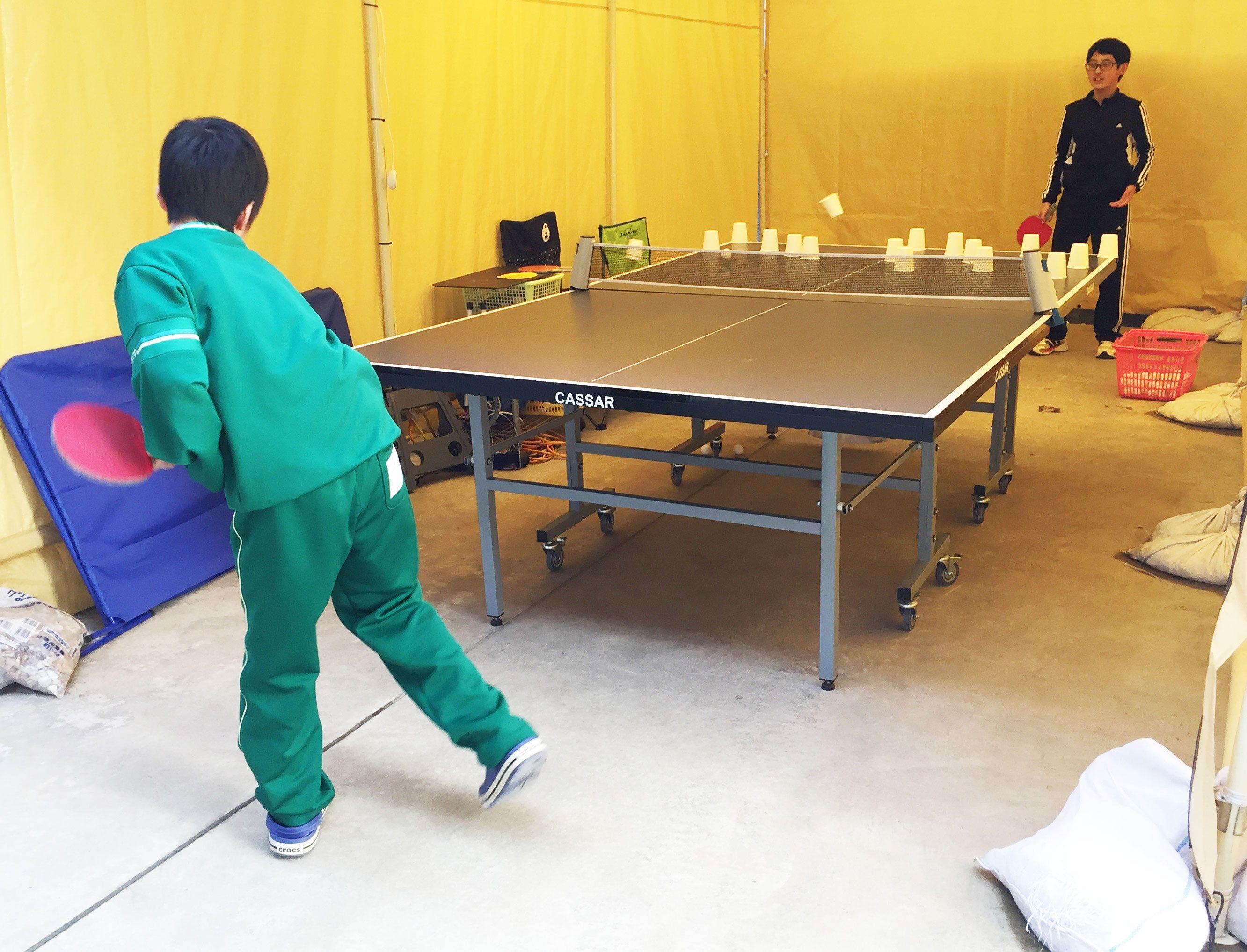 201701_仲間と卓球自主練習2