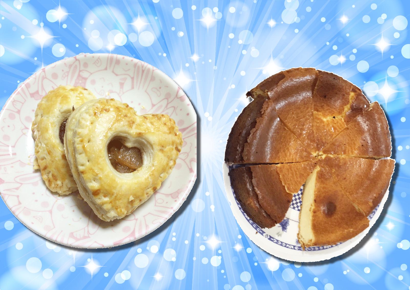 アップルパイ・チーズケーキ