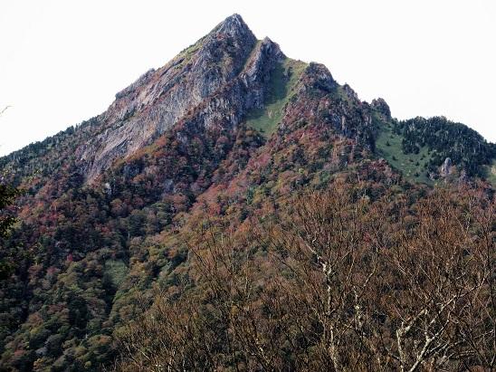 1石鎚山東稜