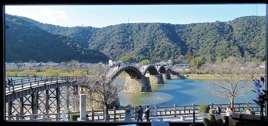岩国寿司の錦帯橋