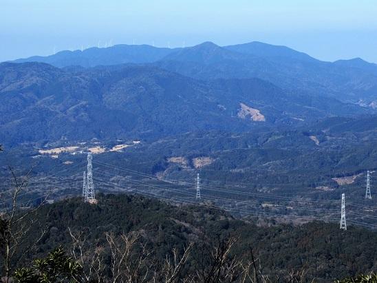 白滝山方面展望