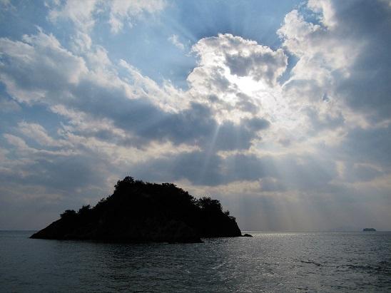 鞆の浦 天使のはしご