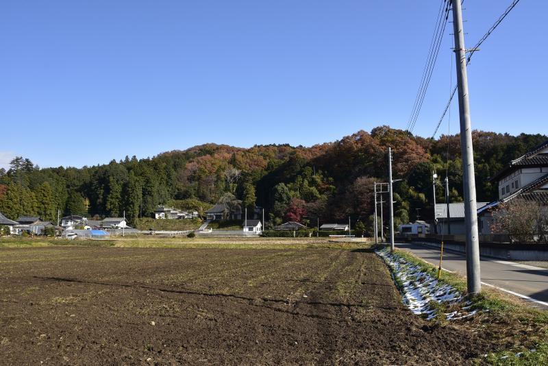 真名子城遠景