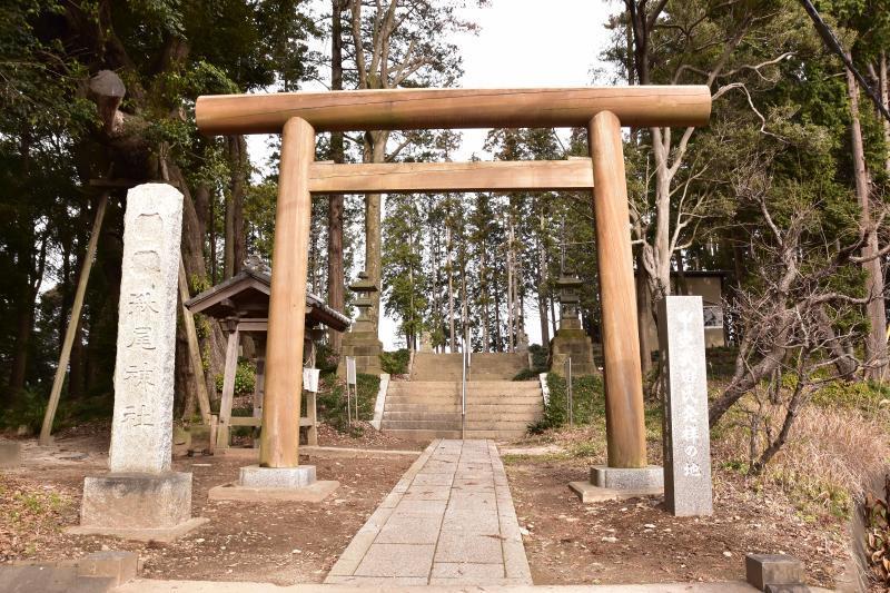 武田氏館神社鳥居
