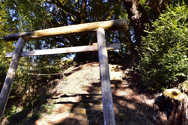 山田城 羽黒神社