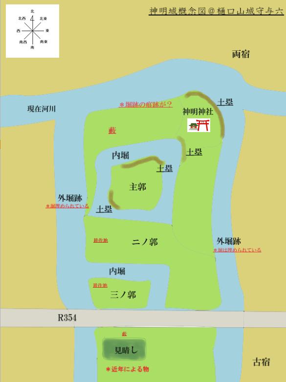 神明城概念図完成@ヤマシロ