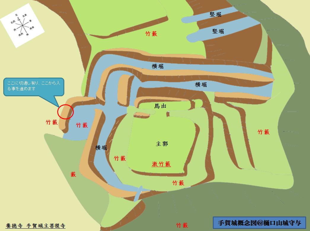 手賀城概念図@ヤマシロ