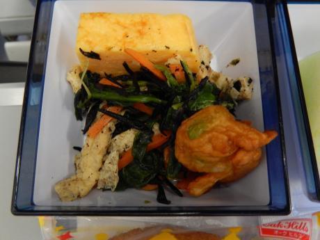 台北2016.7チャイナエアライン台北行き・機内食