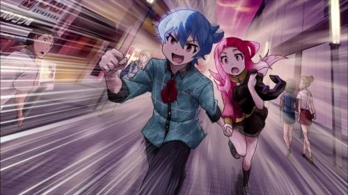 冬の新アニメ『AKIBA'S TRIP -THE ANIMATION-』第1話感想・・・空から女の子が~戦いに巻き込まれて~ヒロインを助けて~俺たちの戦いは始まったばかりだ~ エロギャグアニメだこれ!!