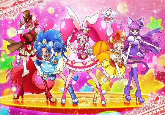 新プリキュア『キラキラ☆プリキュアアラモード』のキャスト発表!美山加恋、福原遥、村中知 、藤田咲、森ななこ