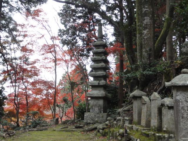 2016年11月30日 瓦屋寺 境内の風景1