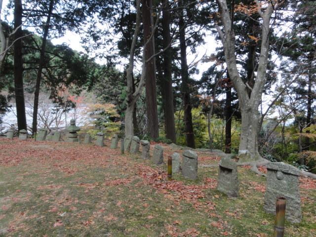 2016年11月30日 瓦屋寺 境内の風景2
