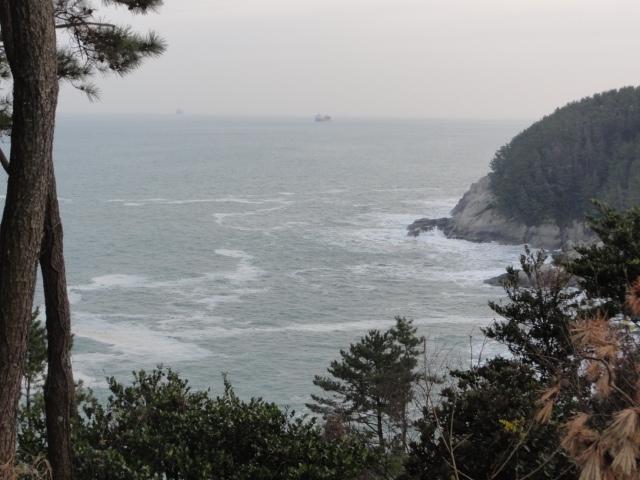 2016年12月24日 巨済島 揚支岩灯台付近散策