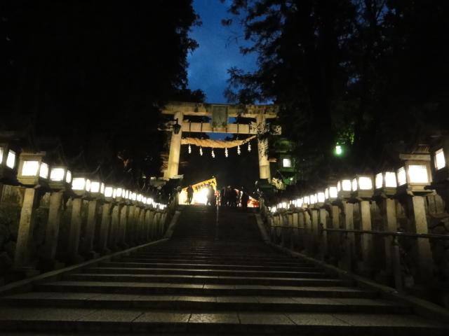 2017年1月2日 宝山寺への道