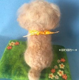 コロンちゃんお人形背中2