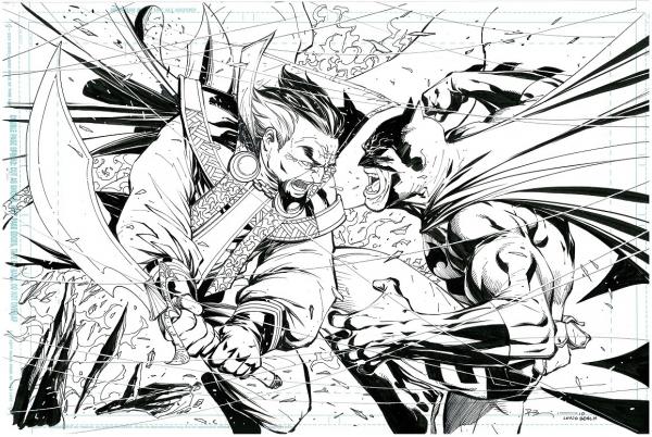 Ryan Benjamin Batman vs Ras small