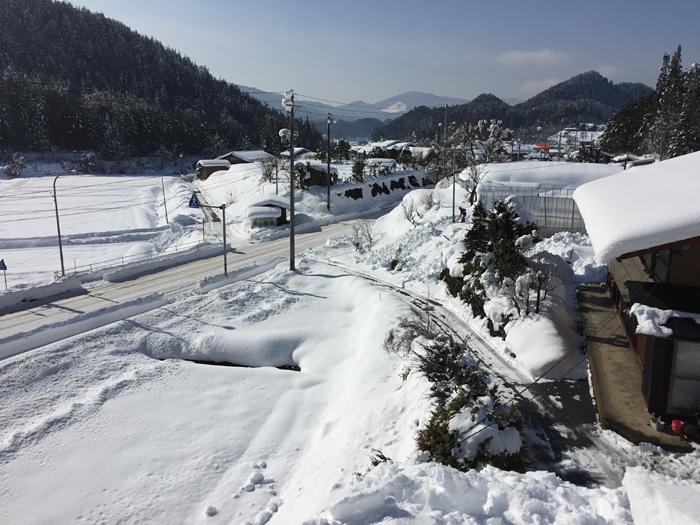雪と戯れる 2017 冬 1