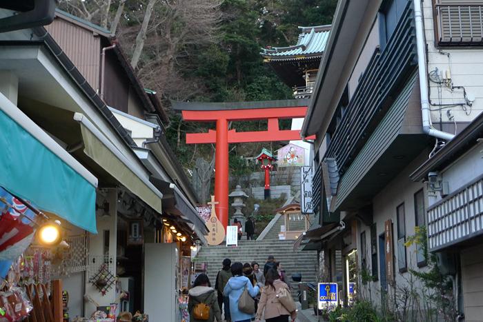 相模の国の神社  江島神社  1