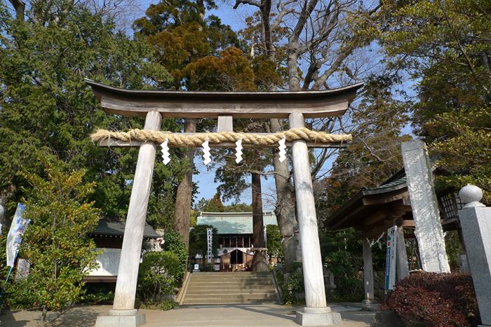 相模の国の神社  比々多神社  2