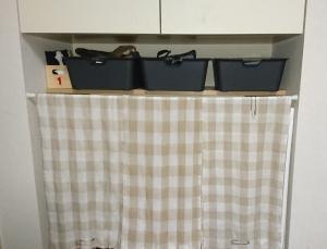 キッチン横造付棚下H2901