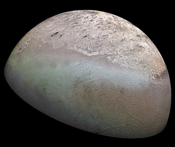 海王星を逆行している奇妙な衛星...