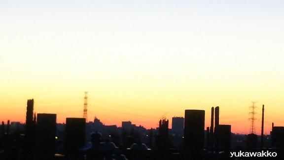 2017年1月10日夜明け