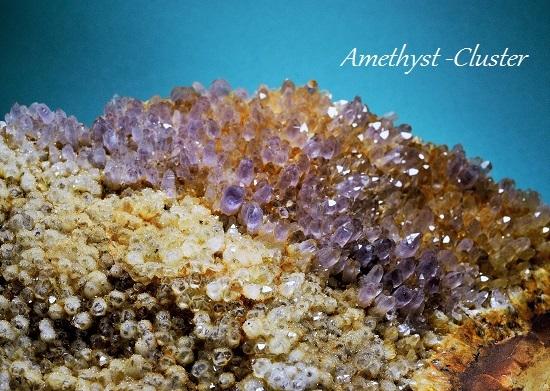 Amethyst-Cluster