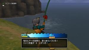 マグロ釣り中
