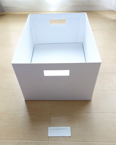 IKEA・TJENA ふた付きボックス③