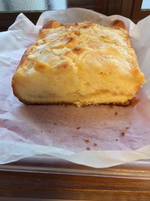 平成28年11月26日洋梨のケーキ